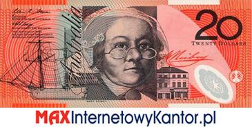 20 dolarów australijskich 1994 r. awers