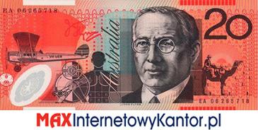 20 dolarów australijskich 1994 r. rewers