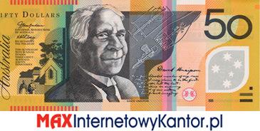 50 dolarów australijskich 1995 r. awers