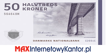 50 koron duńskich seria 2009 awers