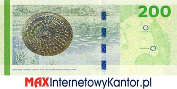 200 koron duńskich seria 2009 rewers