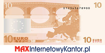 10 euro I seria rewers