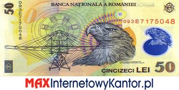 50 lei rumuńskich  2005 r. rewers