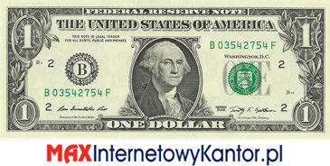 1 dolar merykański awers