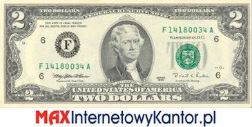 2 dolary merykańskie awers