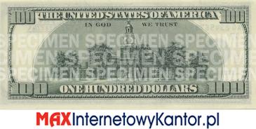 1996 dolarów merykańskie 1990 r. rewers