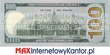 2013 dolarów merykańskie 1990 r. rewers